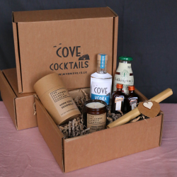 Cosmopolitan Cocktail Kit and Hope Cove Candle Gift Box