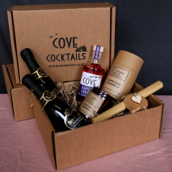 Cove Royale Cocktail and Hope Cove Candle Gift Box