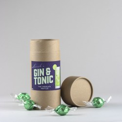 Gin And Tonic Chocolate Truffles (with personalisation)