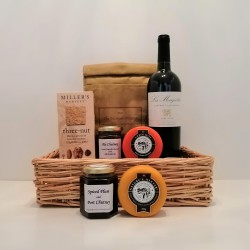 Wine & Cheese Gift Hamper - Midi
