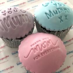 Individual Personalised Cupcake