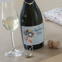 Personalised Mother's Day Bouquet Prosecco