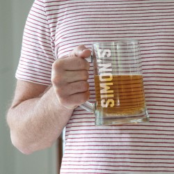 Name Glass Beer Tankard