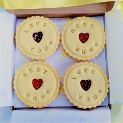 Best Mum Love You Biscuits