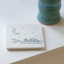You Are My Favourite Porcelain Coaster
