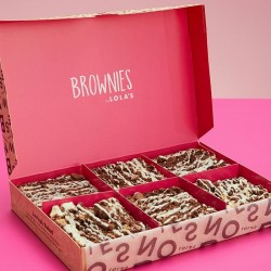 Brownies by Lola's - Cookies and Cream Brownie Box