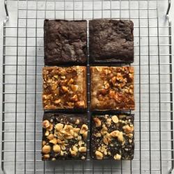 Vegan Mixed Brownies (Box of 6)