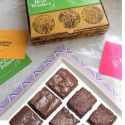 Vegan & Free From Chocolate Brownies
