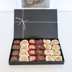 Luxury Rolls Turkish Delight | 6 Flavours Assorted Box