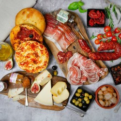 The Italian Aperitivo - Cheese & Charcuterie Box