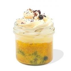 Lemon Lush Gluten free, dairy free lemon & blueberry cake pot - 100% Natural Yum.