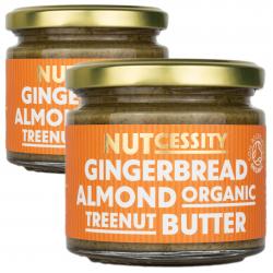 2x Organic Gingerbread Almond Nut Butter