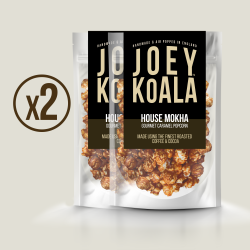 House Mokha Caramel Gourmet Popcorn (2 Pack)