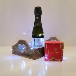 I Love Prosecco and Chocolate Gift Hamper