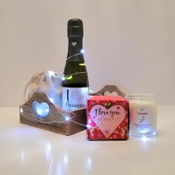 I Love Prosecco and Chocolates and Lavender Gift Hamper