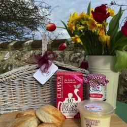 Dorset Cream Tea Hamper With Love