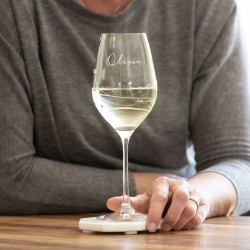 Swarovski Crystal Wine Glass