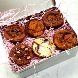Brownie Cups - Assorted Flavours (Box of 6)