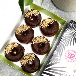 Hazelnut Bronuts (Vegan Doughnuts)