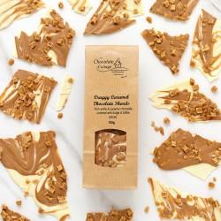 Craggy Caramel Chocolate Shards