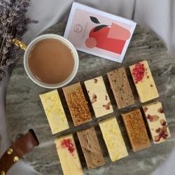 EID Mixed Barfi 10 Piece Box & Greeting Card