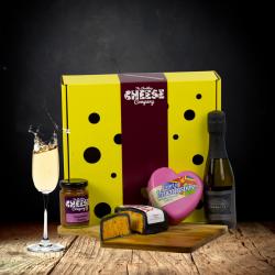 """""""Love Cheese"""" Prosecco Gift Box"""