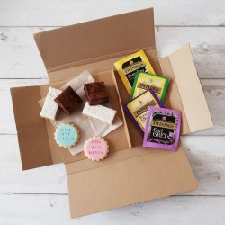 Personalised Biscuit Treat Box - for two