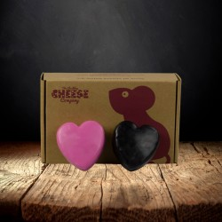 """""""Love Cheese"""" Two Hearts Gift Box"""