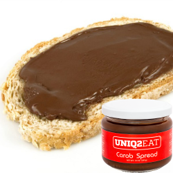 Pure Carob Spread 300g - Vegan, Healthiest alternative to chocolate spread, jelly, peanut butter and other spreads