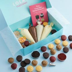 Mixed Tiny Cupcakes - Decorating Kit