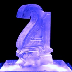 Number Ice Luge