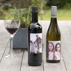 Your Special Photo - Gin Champagne Prosecco Wine Or Rum