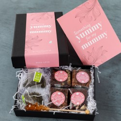 Yummy Mummy Vegan Brownies Afternoon Tea For Two Gift
