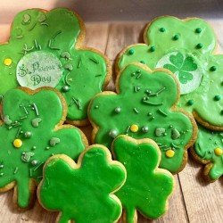 'Good Luck' Sugar Cookies