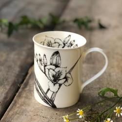 Freesia & Orange Blossom Mug