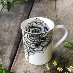 Rose & Jasmine Fine Bone China Mug