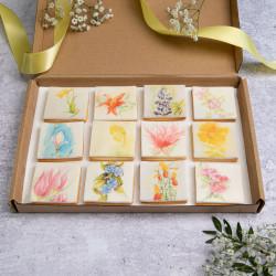 Garden Flower Biscuits