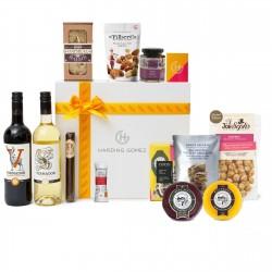 Luxury Foodie Cheese & Wine Gourmet Gift Box Hamper   HG Will's