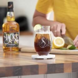 Initial Engraved Rum Tumbler