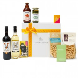 'Gourmet Vegan Food & Wine Gift Box Hamper | 'Share Today, Vegan Tomorrow'