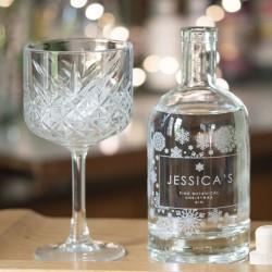 Premium Botanical Snowflake Gin