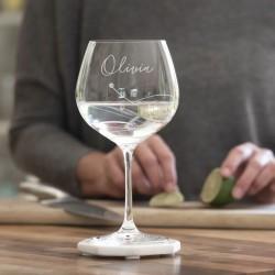 Swarovski Crystal Gin Glass