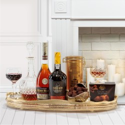 The Kingston Brandy and Port Gift Box