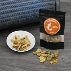 Dried Salmon Fish Crackling Chips with Curry