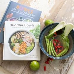 Buddha Bowl and Recipe Book Set