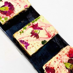 A Ripple Of Raspberry Fudgy Brownies