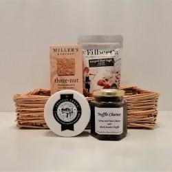 Truffle Cheese & Chutney Gift Basket
