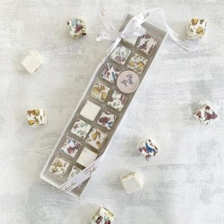 """Miss You"" Deluxe Nougat Gift Box (16 pieces)"