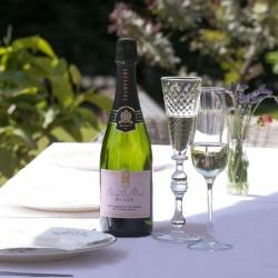 Personalised Mrs & Mrs Wedding Champagne