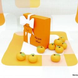 Marzipan Oranges 3D Marzipan Fruits
